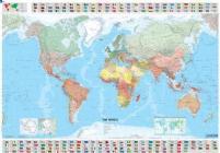Il mondo 1:28.500.000. Ediz. plastificata