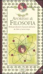 Aforismi di filosofia