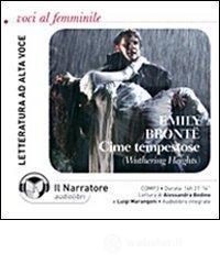 Cime tempestose. (Wuthering Heights). Audiolibro. CD Audio formato MP3. Ediz. integrale