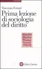 Prima lezione di sociologia del diritto. E-book