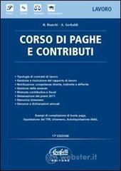 Corso di paghe e contributi