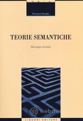 teorie semantiche. segno testo