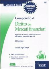Compendio di Diritto dei Mercati Finanziari. E-book