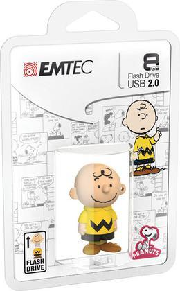 EMTEC USB Key 8GB PEANUTS Charlie Brown