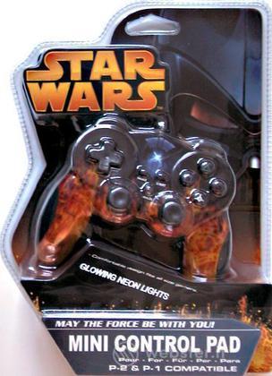 PS2 Joypad Mini Dual Shock S.W. D. Vader