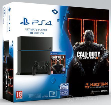 Playstation 4 1TB + COD Black Ops III