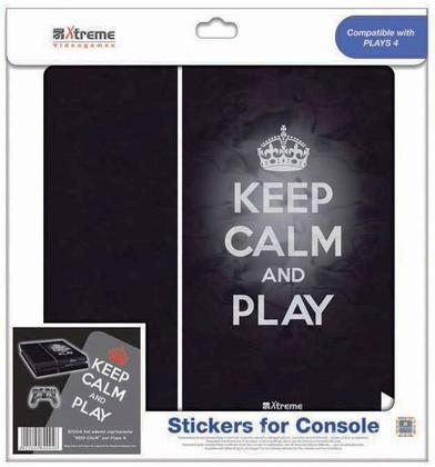 Stickers Keep Calm PS4