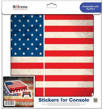 Stickers USA Flag PS4