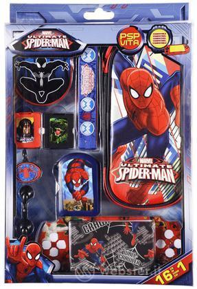 Kit 16 Acc. Spiderman Ultimate PSP-PSV