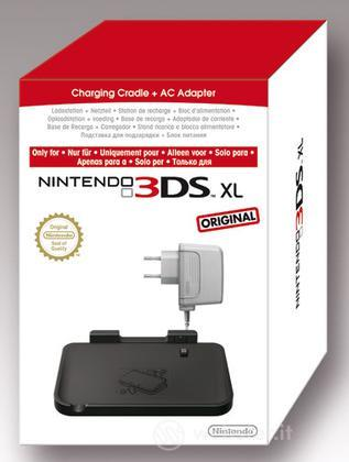 Nintendo 3DS XL Stand Ricarica+Caricab.