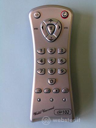 Telecomando Universale Wallis CM 102