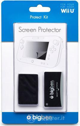 Screen protector+panno antistatico Wii U
