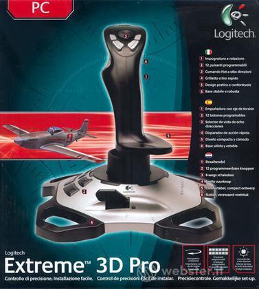 LOGITECH PC Joystick Extreme 3D Pro