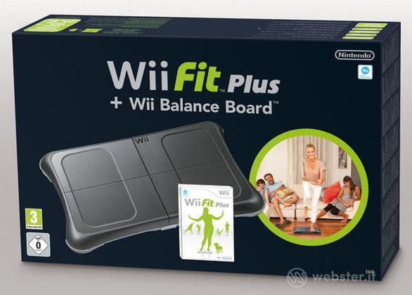 Wii Fit Plus Nintendo+Balance Board Nera