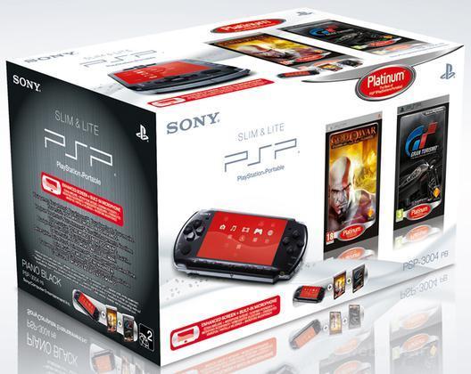 PSP 3000 + GOW Chain of Olympus + GT PLT