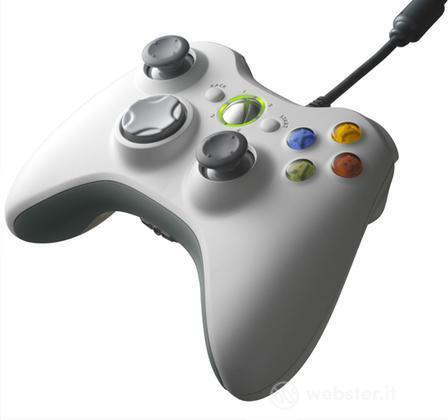 MICROSOFT X360 Controller Wired Bianco