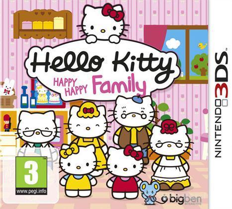 Hello Kitty Happy Happy Family