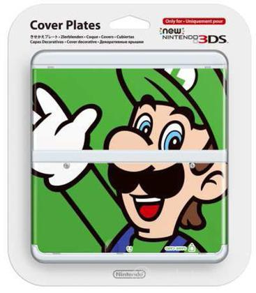 Nintendo New 3DS Cover Luigi