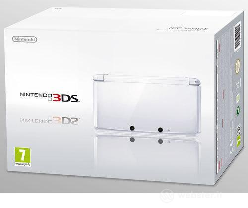 Nintendo 3DS Bianco Ghiaccio