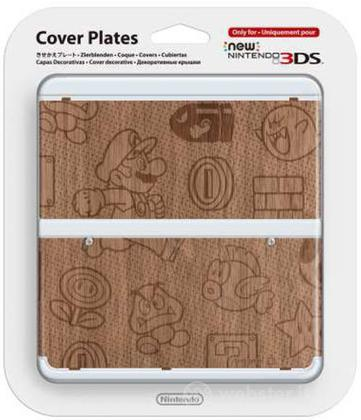 Nintendo New 3DS Cover Wood