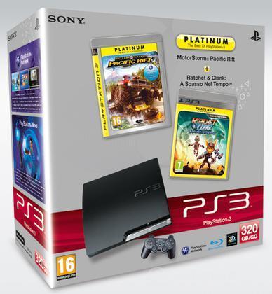 Playstation 3 320 GB+Motorstorm PR+R&C