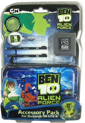 NDSLite Pack 9 In 1 Ben 10 Alien Force