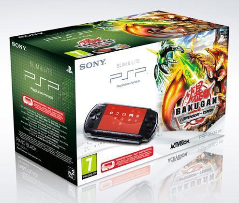 PSP 3000 + Bakugan Battle Brawlers