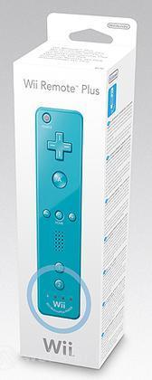 NINTENDO Wii Telecomando Wii Plus Blu