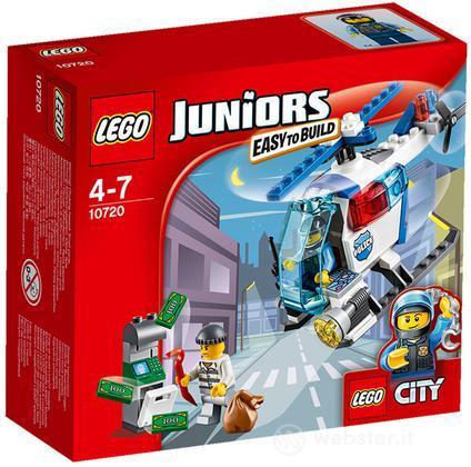 LEGO Juniors: Inseg. Elicottero Polizia