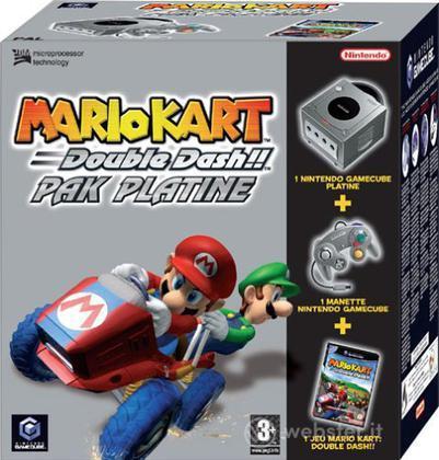 Game Cube Mario Kart Pak Platinum