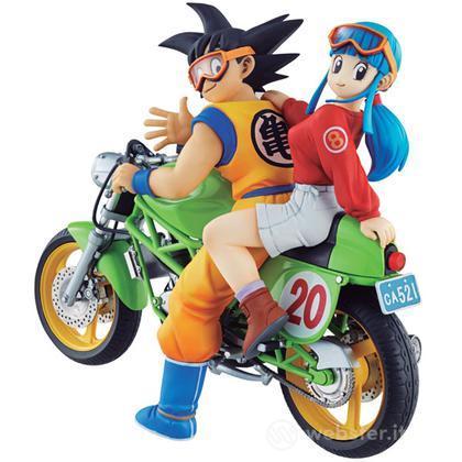 Figure Dragonball - Goku & Chi-Chi(Bike)