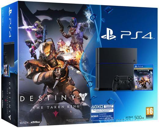 Playstation 4+Destiny:Il Re dei Corrotti