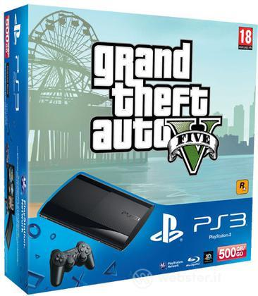 Playstation 3 500GB + Grand Theft Auto V