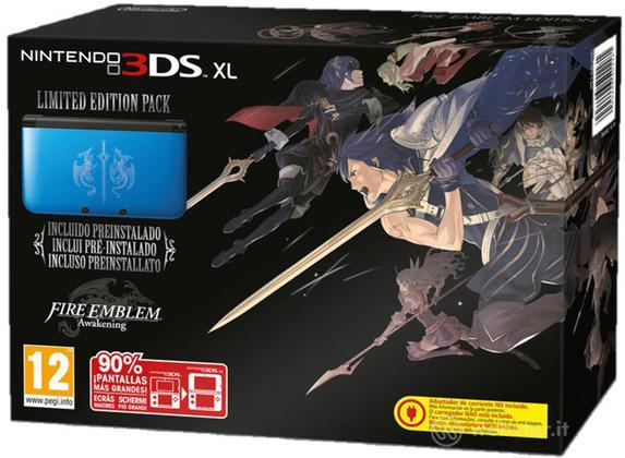 Nintendo 3DS XL Fire Emblem Awake.Ltd Ed