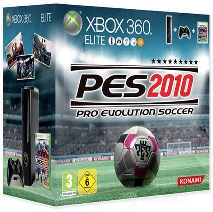 XBOX 360 Elite System PES 2010 Bundle