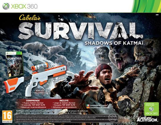 Cabela's Survival Shadows Katmai bundle