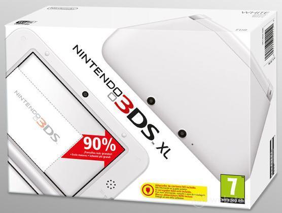 Nintendo 3DS XL - White
