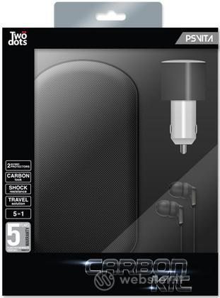 TWO DOTS Kit Alluminio Carbon Nero PSV