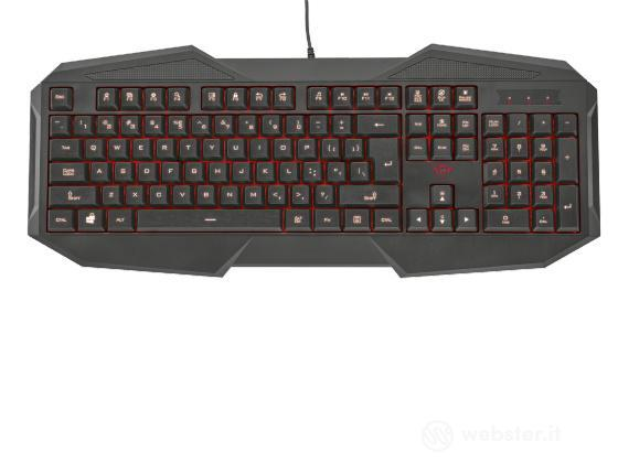 TRUST GXT 830 Gaming Keyboard IT