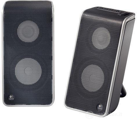 LOGITECH PC Speakers V-20 USB Laptop