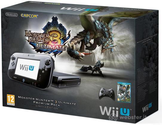Wii U Monster Hunter 3 Ult. Premium Pack