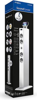 SoundTower Multimediale Bianco