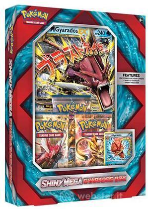 Pokemon Shiny Mega Gyarados Box UK