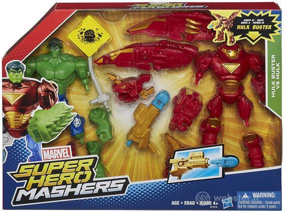 Figure Mar.H.Mashers Hulk Vs.Hulkbuster