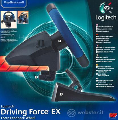 PS2 Volante Driving Force EX - LOGITECH