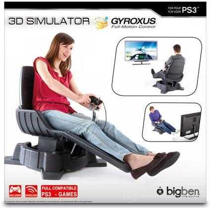 Playing Seat Gyroxus PS3
