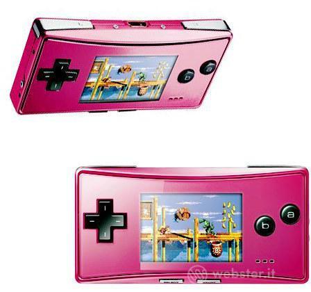 Game Boy Micro Pink