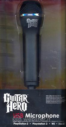PS3 PS2 Guitar Hero Tour Game Microfono