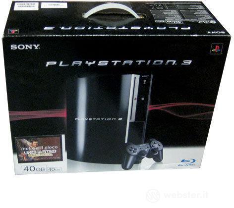 Playstation 3 40 GB + Uncharted:Drake F.