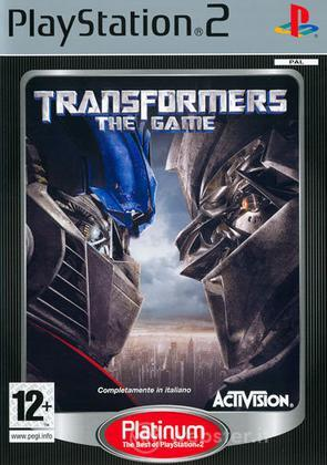 Transformers The Game PLT